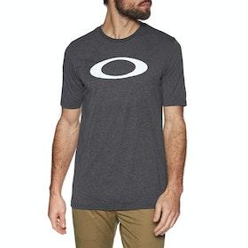 Oakley O-bold Ellipse Short Sleeve T-Shirt - Blackout Light Heather