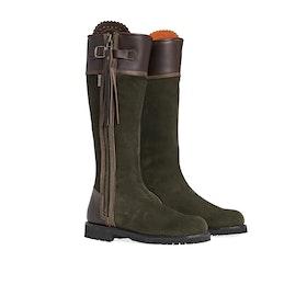 Penelope Chilvers Inclement Long Tassel Women's Boots - Seaweed/Conker