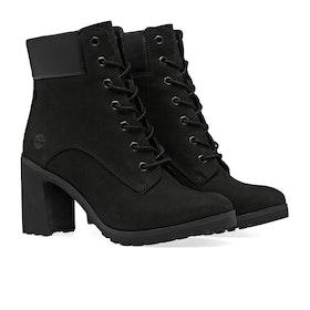 Timberland Allington Lace Up Boots - Black Nubuck
