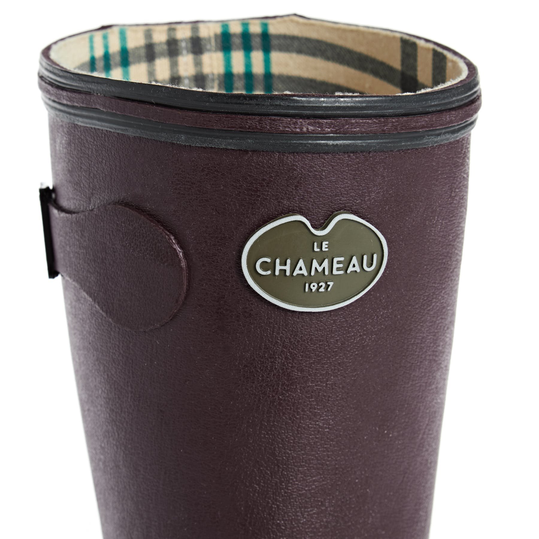 Le Chameau Giverny Jersey Lined Boots Wellington Cherry All Sizes