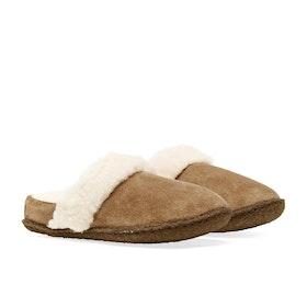 Sorel Youth Nakiska Slide II Kinder Pantoffeln - Camel Brown, Na