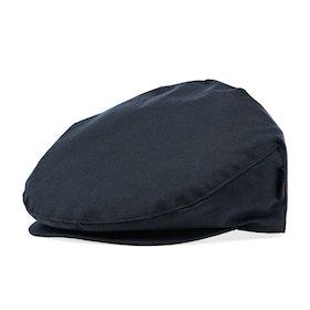Barbour Cheviot Tartan Flat Men's Hat - Navy