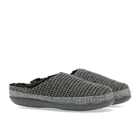 Toms Ivy Damen Pantoffeln - Forged Iron Grey Sweater Knit
