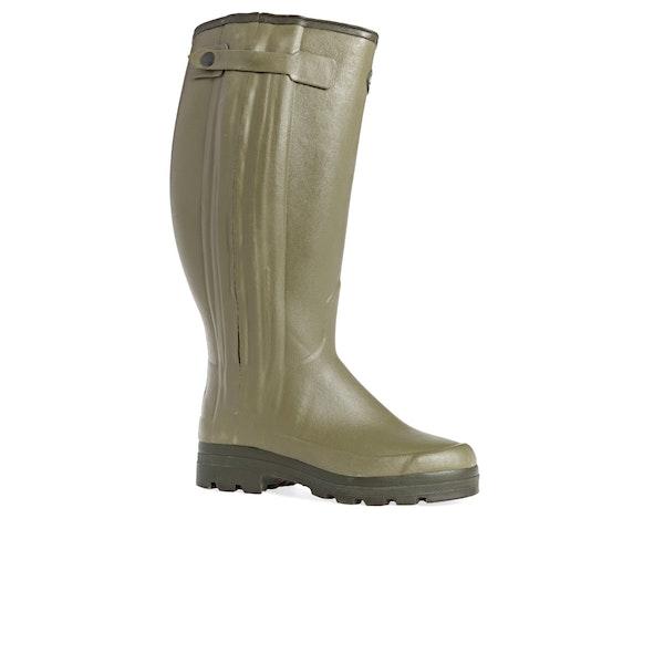 Le Chameau Chasseur Neoprene 50cm Width Wellington Boots