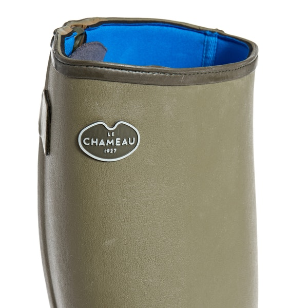 Le Chameau Chasseur Neoprene 50cm Width ウェリントンブーツ