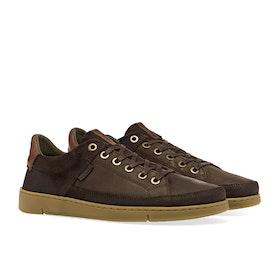 Barbour Bilby Men's Shoes - Brown Nubuck