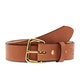 Saddle Tan / Brass