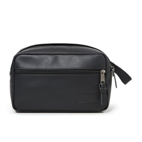 Eastpak YAP Single Wash Bag - Black Leather Ink