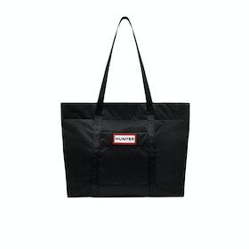 Hunter Original Nylon Tote Damen Einkaufstasche - Black