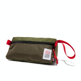 Topo Designs Dopp Kit Wash Bag - Olive
