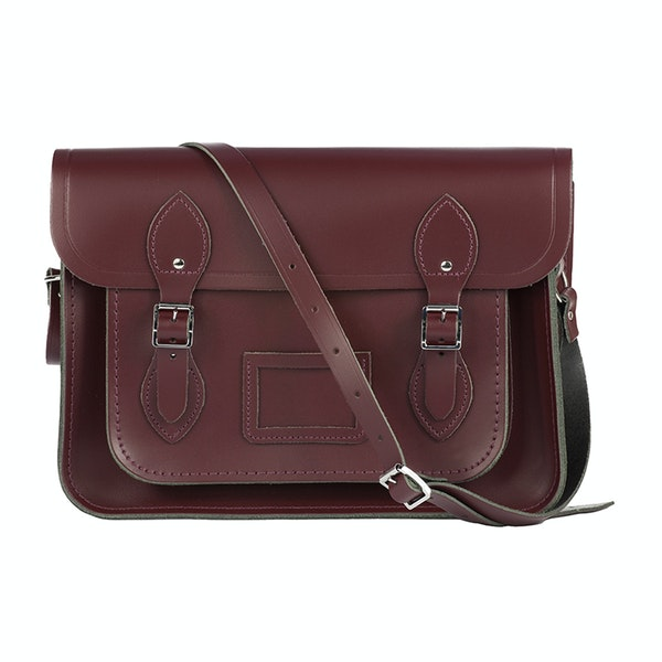 The Cambridge Satchel Company 13 inch Satchel with Magnetic Closure Дамская сумка