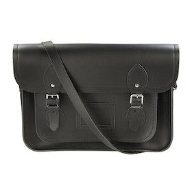 Borsa a Mano Donna The Cambridge Satchel Company 13 Inch Satchel with Magnetic Closure - Black
