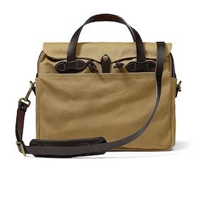 Filson Original Briefcase Messenger Bag - Tan