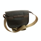 Barbour Wax Leather Cartridge Messenger Bag