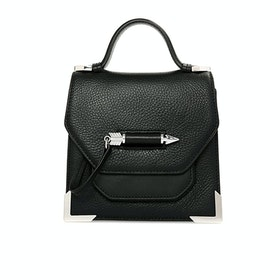 Mackage Rubie Leather Cross Body Damen Handtasche - Black