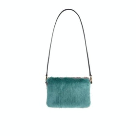 Helen Moore Medium Clutch Women's Handbag - Sea Green Steel