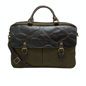 Country Attire Islington Briefcase - Khaki