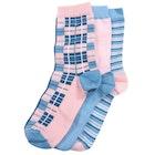 Barbour Tartan Giftbox Women's Fashion Socks