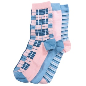 Barbour Tartan Giftbox Women's Socks - Mixed