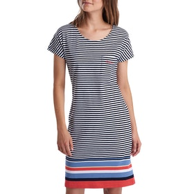 Barbour Harewood Stripe Women's Dress - Navy