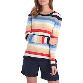 Barbour Seaview Knit Women's Sweater - Multi Stripe