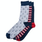 Barbour Nautical Gift Set Fashion Socks