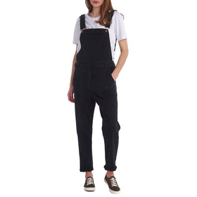 Barbour Maddison Women's Dungarees - Washed Black