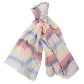 Barbour Freya Rainbow Wrap Women's Scarf - Mulighti Stripe