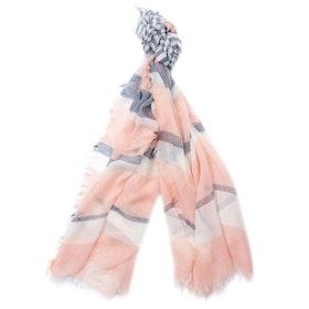 Barbour Shoreside Wrap Women's Scarf - Pale Pink Blue