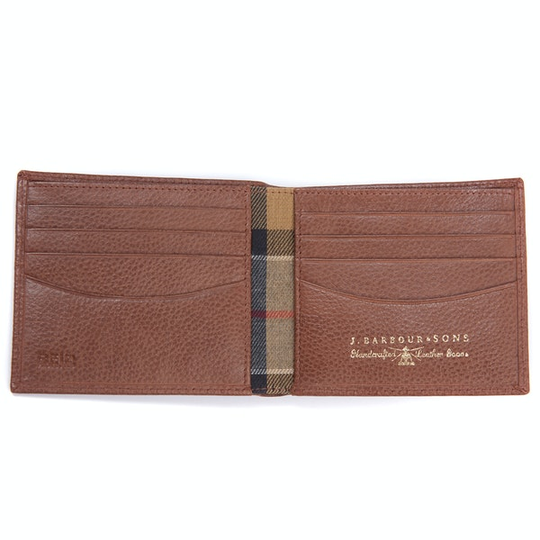 Barbour Amble Leather Billfold Men's Wallet