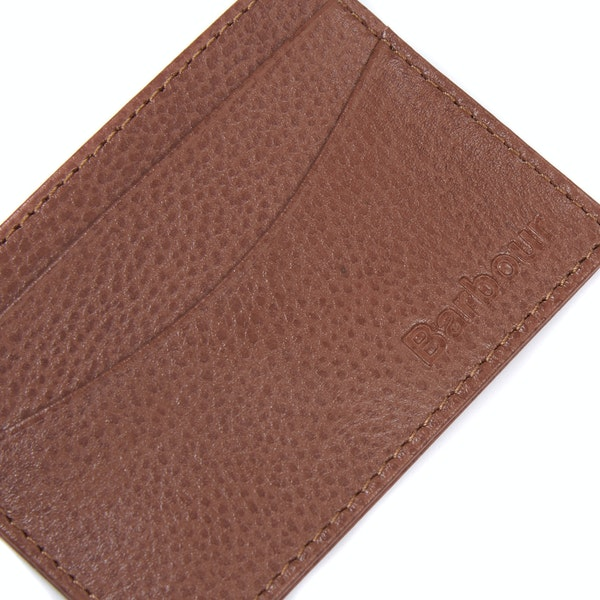 Barbour Amble Leather Men's Card Holder