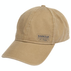 Barbour International Smq Racer Sports Cap - Trench