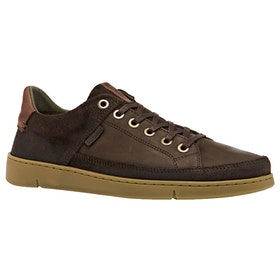 Barbour Bilby Trainers - Brown Nubuck
