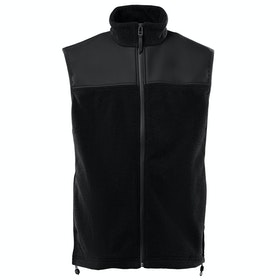 Rains Fleece Vest Kropsvarmer - Black