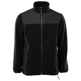 Polaire Rains Fleece Zip Puller - Black