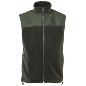 Rains Fleece Vest Weste - Green