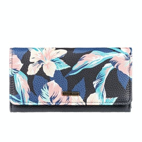 Roxy Hazy Daze Womens Purse - Anthracite Tropicoco
