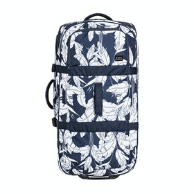 Roxy Long Haul 105L Womens Luggage - Mood Indigo Flying Flowers S