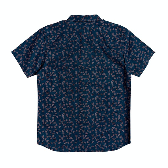 Quiksilver Anchors Away Youth Boys Short Sleeve Shirt