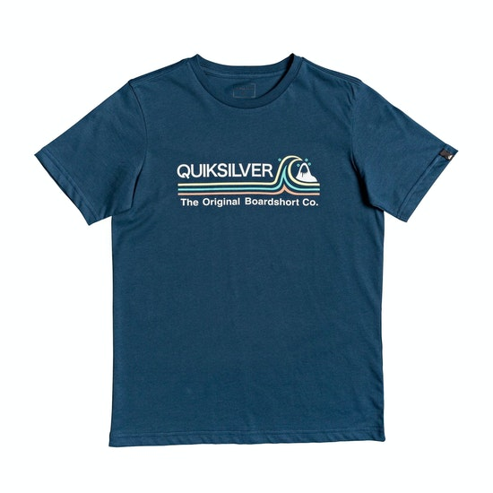 Quiksilver Stone Cold Classic Boys Short Sleeve T-Shirt