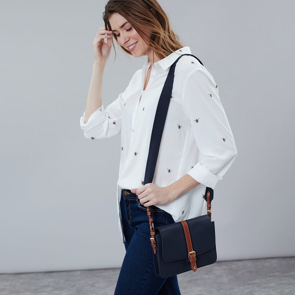 Joules Wimbourne Womens ハンドバッグ