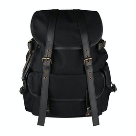 Grenson Large Backpack Satchel - Black