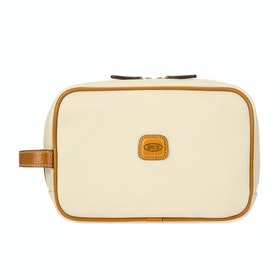 Brics Firenze Toiletry Wash Bag - Cream