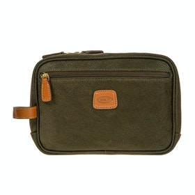 Brics Life Wash Bag - Olive
