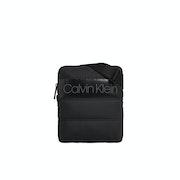 Calvin Klein Puffer Flat Messenger Bag