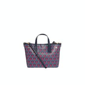 Liberty London Mini Marlborough Damen Einkaufstasche - Blue