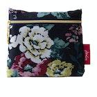Joules Cambridge Floral Zip Pouch Einkaufstasche