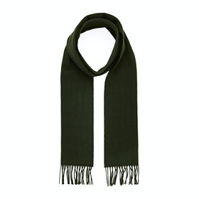 Royal Speyside Lambswool Scarf - Dark Green