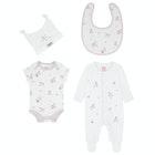 Cath Kidston 4pk Baby Starter Set Kid's Baby Grow