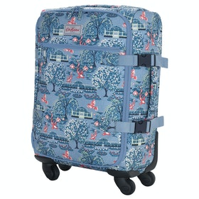 Bagaglio Cath Kidston Four Wheel Cabin Bag - Blue
